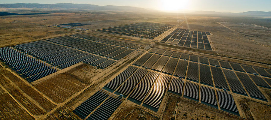 The Biggest Solar Plant On The Globe In India Green